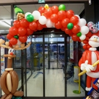 Decoration ballon noel magasin