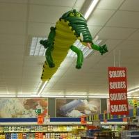 Animaux géants en ballons sculptés