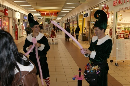 Magicien, clown ballons à Libourne