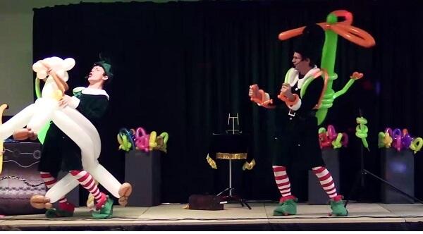 Spectacle de Noël magie pour enfant
