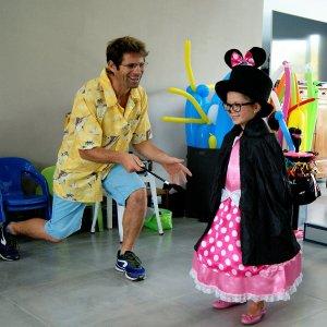 Anniversaire enfant magicien magie